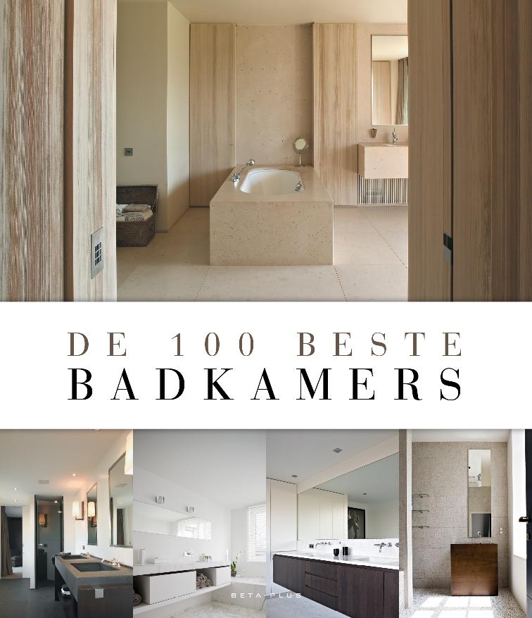 """Cover van het boek """"De 100 beste badkamers"""""""
